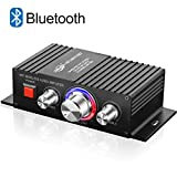 Mini HiFi Bluetooth Amplificateur TTMOW 30W x 2 Amplifier Audio Stéréo DC 12V 24V Super Bass Amplificateur de Puissance Audio pour Voiture et Voiture (Adaptateur Universel, Non Inclus)