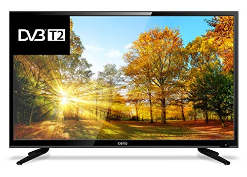 Cello C32227T2 V3 32 Inch HD Ready LED TV Built In Freeview HD (Renewed)