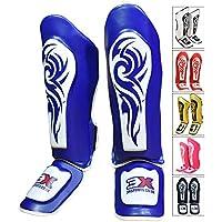 3X Professional Choice Shin Instep Guard MMA Almohadillas para piernas Equipo de protección Thai Boxing UFC MMA Training Kickboxing