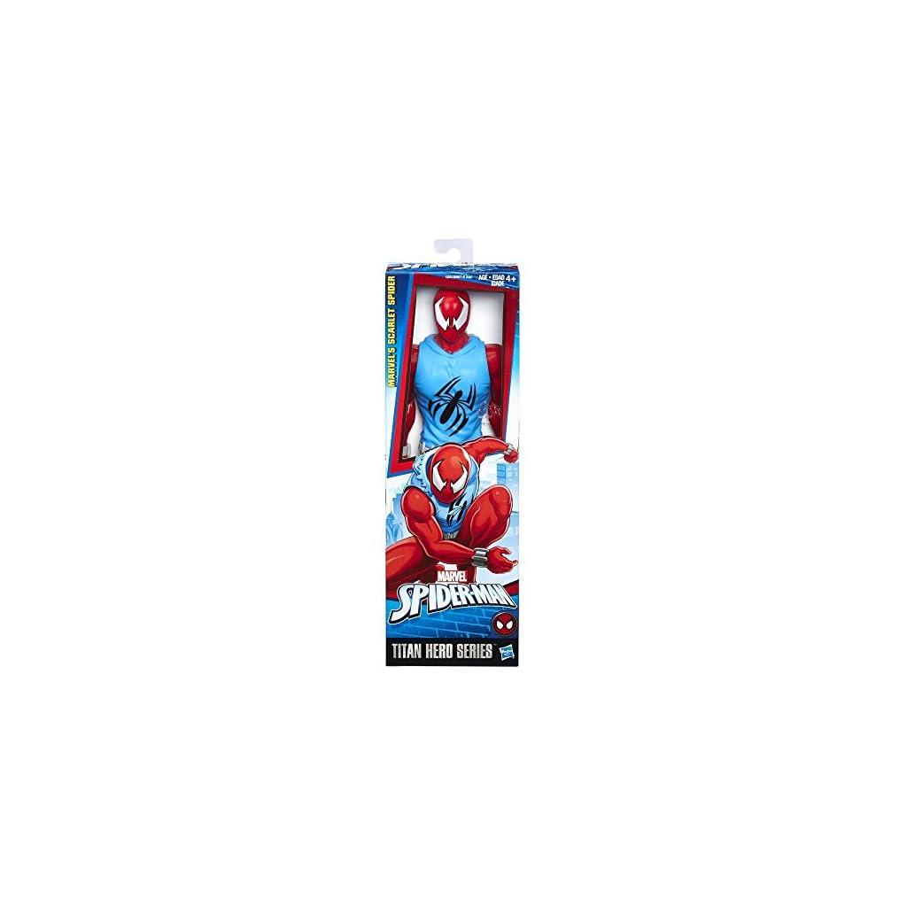 Hasbro Spider-Man Titan Hero Scarlet Spider 1pieza(s) Multicolor Niño/niña - Figuras de Juguete para niños (Multicolor… 8