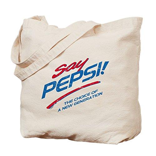 CafePress–sagen Pepsi–Leinwand Natur Tasche, Reinigungstuch Einkaufstasche, canvas, khaki, S (Pepsi Maschine)