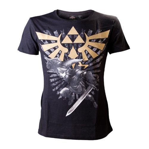 Zelda Logo Link T-Shirt Batman Logo Belt Buckle