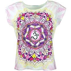 Camiseta Yoga blanca de Mandala