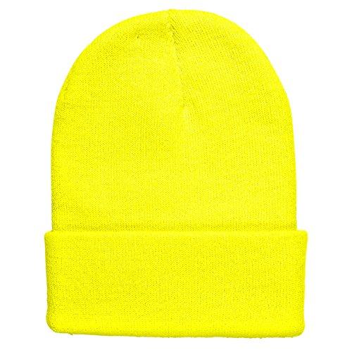 (Widmann 01047 Mütze, neon gelb, One Size)