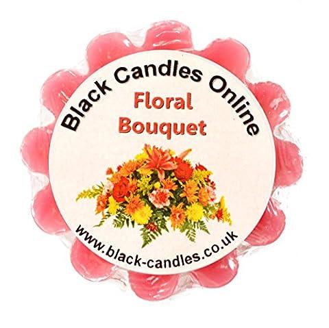 Black Candles Wax Tart Melt - Floral Bouquet Fragrance