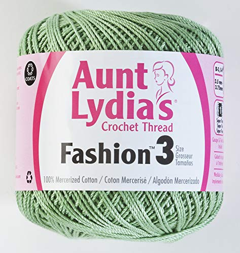 Aunt Lydia's Fashion Crochet Thread Size 3-Sage -