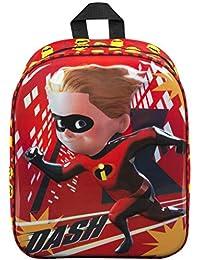Mochila Infantil Los Increibles 2 Mochilas Escolares Chico Cartera Niño Disney Pixar Niños Brilla en la