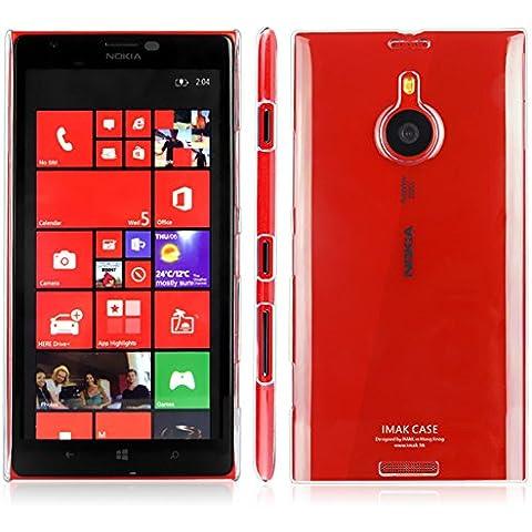 Funda Nokia Microsoft Lumia 1520, IMAK Transparente Clear Plastic Hard Cover Case carcasa de piel, Durable Nano Coating Processed, Ultra Delgado & Ligero [Anti Sctrach] [Yellowing Proof]