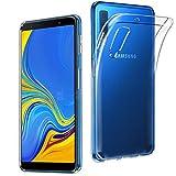 Samsung Galaxy A7 2018 Hülle, AVIDET Ultra Dünn Durchsichtige Handyhülle Soft Flex Silikon TPU Case für Samsung Galaxy A7 A750 6 Zoll 2018 - Transparent