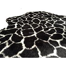 Jirafa piel sintética syntetik in3tamaños engomado antideslizante de látex Orient bazar24, 150 x 110 cm
