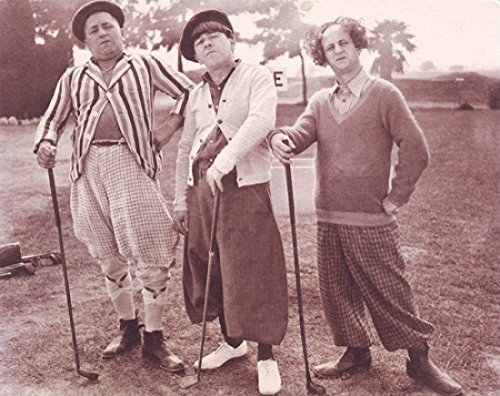 Die Three Stooges Golf Poster Drucken (35,56 x 27,94 cm) (Three Stooges Golf)