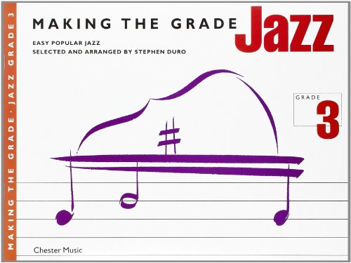 Making The Grade Jazz Grade Three (Piano) Psg (Pop Instrumental Ensembles for All)