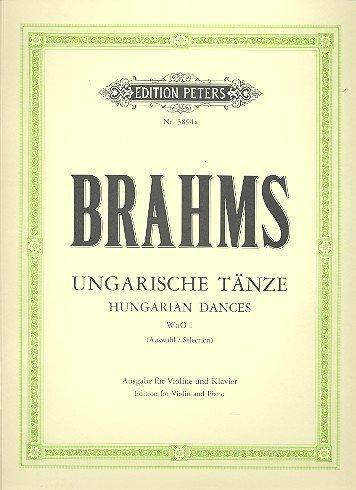 Ungarische Taenze. Violine, Klavier