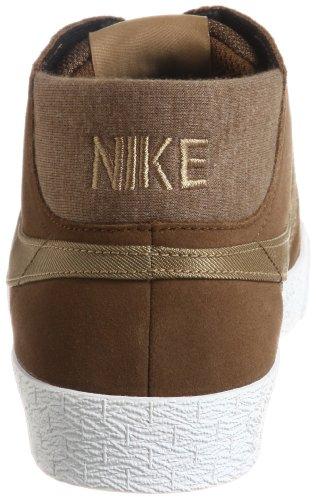 Nike M nK aroswft Strke coutil Top T-Shirt à manches longues, homme Brun et blanc