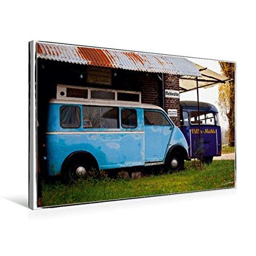til-Leinwand 75 cm x 50 cm quer, Two Blues | Wandbild, Bild auf Keilrahmen, Fertigbild auf echter Leinwand, Leinwanddruck Mobilitaet Mobilitaet ()
