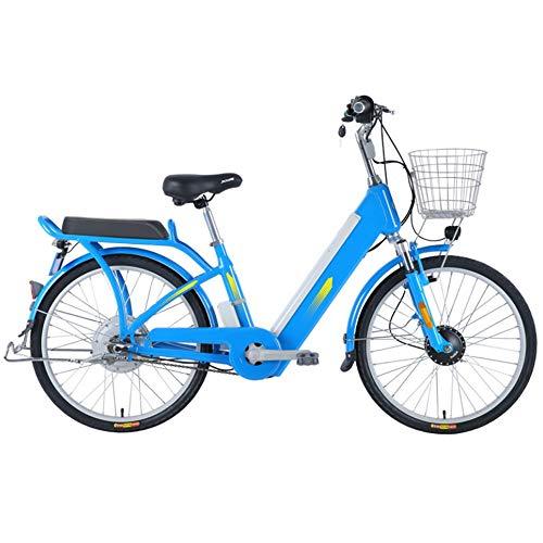 BANGL B Bicicleta eléctrica Ocio Viajes 48V Batería de Litio Bicicleta eléctrica Energía Bicicleta eléctrica 24 Pulgadas Diámetro de la...