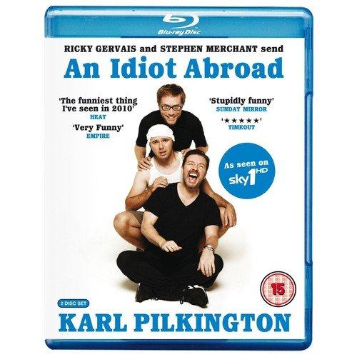 Preisvergleich Produktbild An Idiot Abroad Karl Pilkington [BLU-RAY]