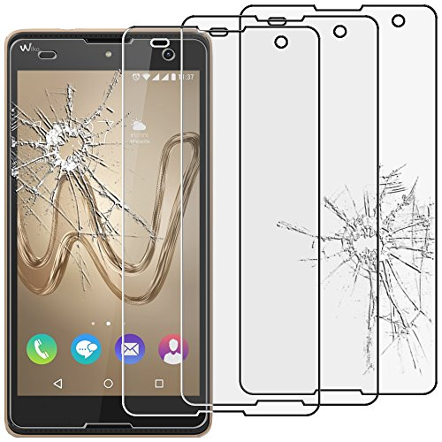 EbestStar - [Lote 3 Cristal Templado Wiko Robby Protector