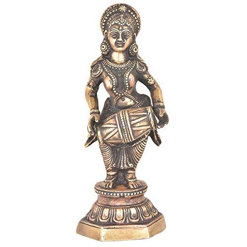 indianshelf handgefertigt Messing Dancing Lady Tänzerin mit Ein Dholak Statue Statement-Stücke Online