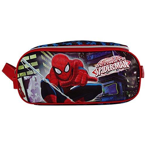 Marvel Spiderman Ultimate Tasche für Schuhe Hausschuh Reise Turnhalle Schwimmbad