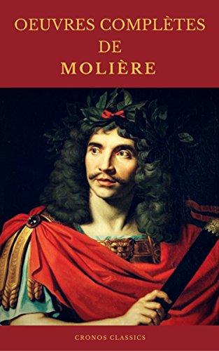 Couverture du livre OEUVRES COMPLÈTES DE MOLIÈRE (Cronos Classics)
