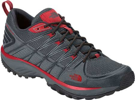 The North Face M Litewave Explore Herren Wanderschuhe Gris (Zinc Grey / Pompeian Red)