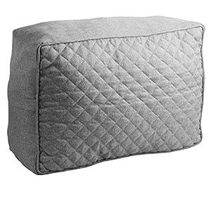 Laneetal Sitzkissen mit Reißverschluss 120x80x10cm Grau Palettenkissen Palettenpolster Palettenauflage Palettensofa