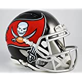 OFFICIAL NFL TAMPA BAY BUCCANEERS MINI SPEED AMERICAN FOOTBALL HELMET BY RIDDELL by Riddell