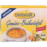 Erntesegen, salzarme Gemüse-Brühwürfel (für 0,5l), 6 Wü