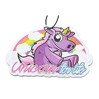 Unicorn Einhorn Duftbaum Lufterfrischer Rainbow & Stardust Air Freshener - Dub (Duft: Stardust)