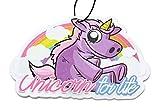 Unicorn Einhorn Duftbaum Lufterfrischer Rainbow & Stardust Air Freshener - Dub (Duft: Rainbow)