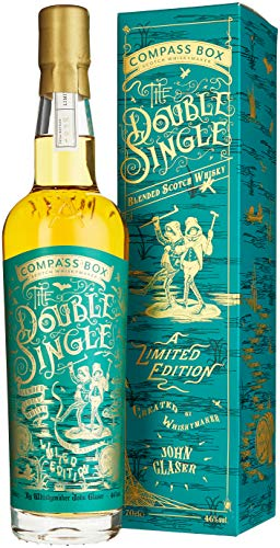 Compass Box The DOUBLE SINGLE Grain & Malt Blended Scotch Whisky Limited Edition (1 x 0.7 l) (Spice Tree)