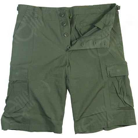 Mil-TecHerren Short Grün Olive Green