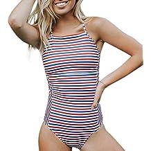 Luckycat Traje De Baño Bikini-Mujer Push-up Acolchado Bra Bikini Verano Trajes de