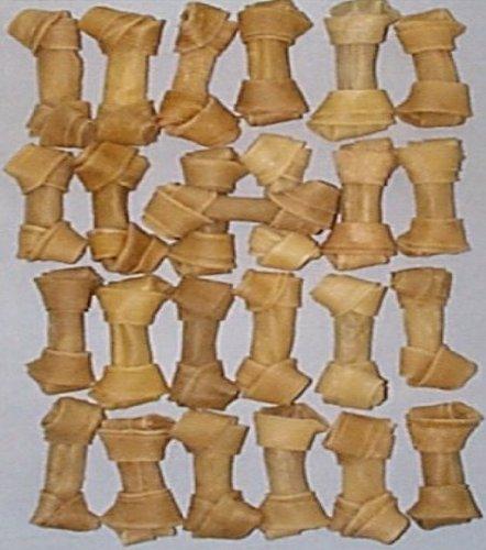 Hide Hundesnack 10,2cm Knoten Knochen 25Stück [Misc.]