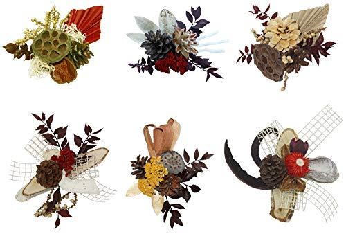 Auflagensortiment klein Natur Creme farbig 21 Stück Exoten Gesteckauflagen Grabgestecke Friedhof Grabgestaltung Grabdeko