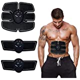 Vmoni Muscle Exerciser Stimulator Fitness Gym Abs Stickers Pad For Body Slimming For Unisex