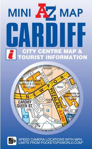 Cardiff Mini Map (A-Z Mini Map)