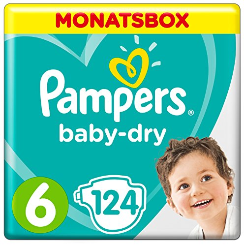 Pampers Baby Dry Gr.6 Extra Large 15+ kg MonatsBox