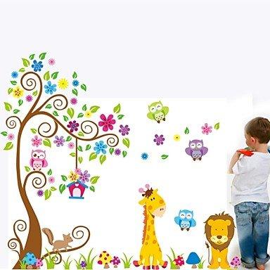 stickers-muraux-stickers-muraux-plusieurs-lion-girafe-et-oiseaux-stickers-muraux-en-pvc
