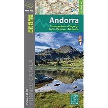 Andorra - Comapedrosa-Engorgs-Juclar-Pessons-Tristaina 1:40.000