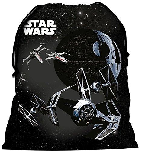 Familando Star Wars Schulranzen Set 17tlg. mit großer doppel Federmappe gefüllt 48-tlg., Regen-/Sicherheitshülle, Sporttasche, Schultüte 85cm, Dose und Trinkflasche schwarz - 9