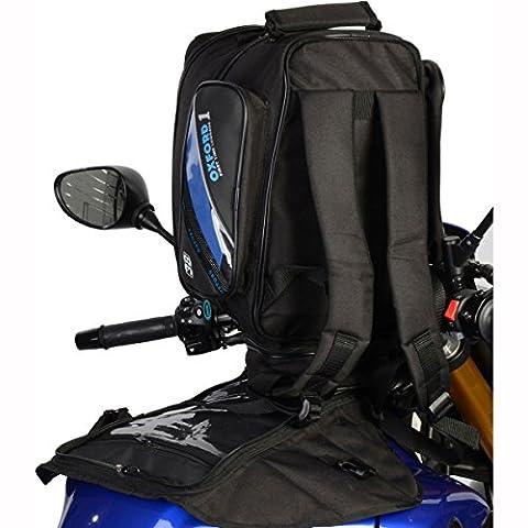 OL432 - Oxford 2013 First Time Motorcycle Expander Tankbag
