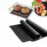 Bureze 100 x 40 cm-Antihaft-BBQ-Grill-Matte für Kuchen und Kuchen - p-994067.HTML 100 x 40 cm antihaftbeschichtete Grillmatte für Grill, Kuchen, Backmatte