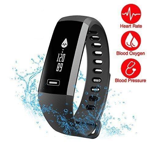 CURREN R5.PR0 Smartwatch Activity Fitness Tracker,Fitness Armbänder Mit Blutdruck, Herzfrequenz, Schlaf-Monitor, Kamera-Fernbedienung Schießen,Schrittzähler,IP67 Wasserdicht Bluetooth für Andriod/IOS