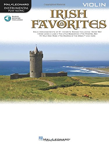 Instrumental Play-Along Irish Favorites Violin Book/Cd