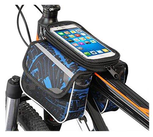 Bike Bag Bunte Fahrrad Lenker Pakete für 6 Zoll Telefon Multi-Funktions-Fahrrad-Zubehör#2