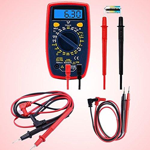 Farbe Blei-test-kit (Gulin 2 Stücke Multimeter Testleitungen Set Tester Sonde, Digital-Multimeter universal stift schraube stift)