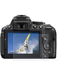 PULUZ cámara curvado 2.5d Edge 9H Superficie Dureza templado cristal Protector de pantalla para Nikon D500/D600/D610/D7100/D7200/D750/D800/D810
