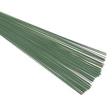 Florist Supplies - Alambre plastificado, color: verde